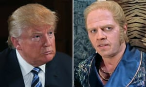 Donald Trump and Biff Tannen from Back to the Future.