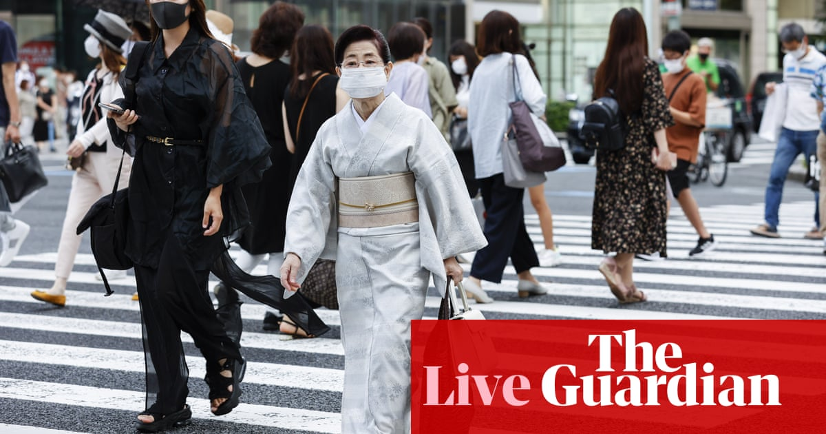 Coronavirus live news: Japan reports record cases ahead of Paralympics, New Zealand cluster grows
