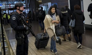 The New York subway in the wake of the attack. Some public metro systems are moving towards mass screening.