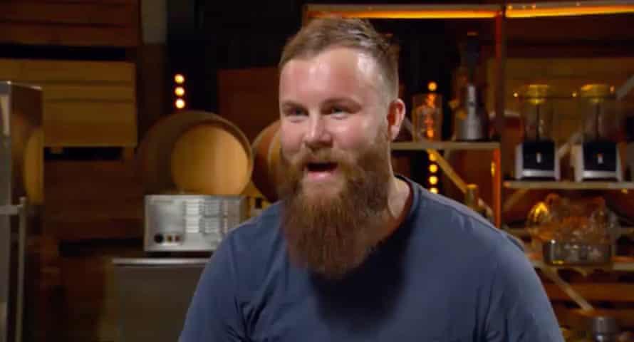 Brent, in a still from MasterChef Australia 2021.