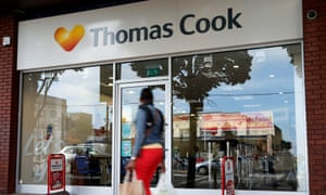 Thomas Cook travel shop