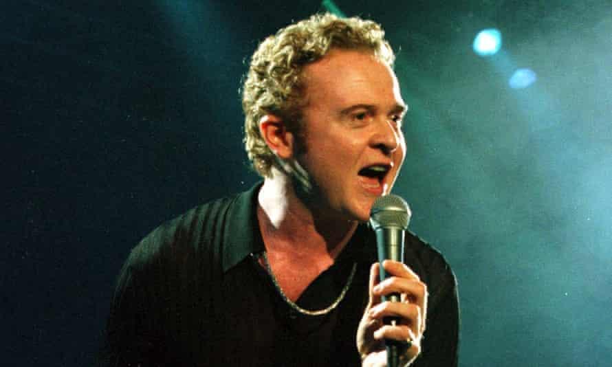 Simply Red lead singer Mick Hucknall