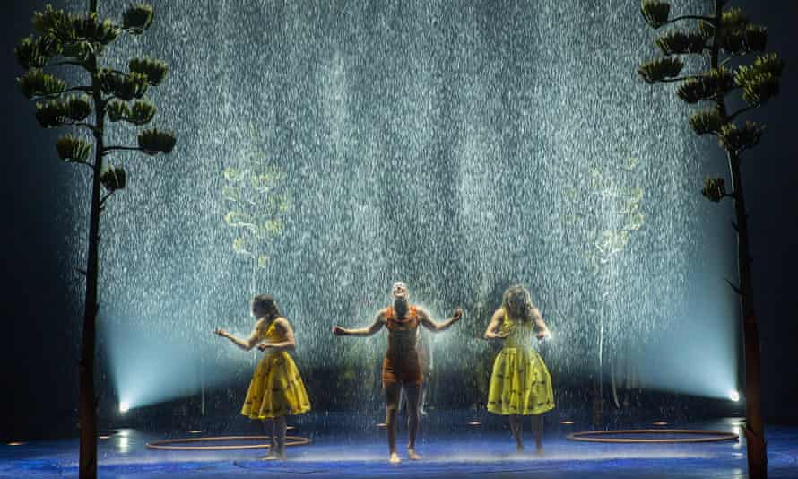 Cirque du Soleil: Luzia … Who else has the capacity to create a waterfall the height of the Albert Hall?