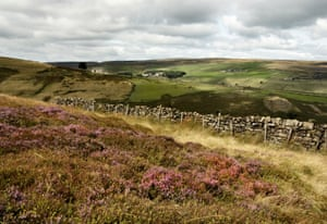 Pennine Moors in Bronte Country, West Yorkshire.