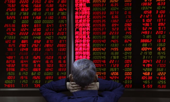 Global share markets tumble amid fears the rise of big tech
