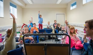 A Polish Saturday school in Ely, Cambridgeshire, where children between six and 13 learn the language and learn about Poland's history and culture.