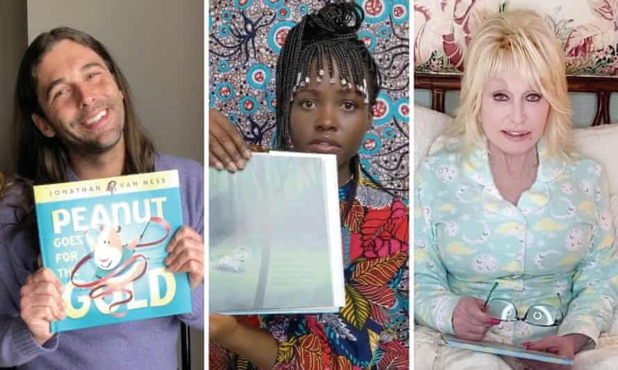Jonathan Van Ness, Lupita Nyong'o and Dolly Parton