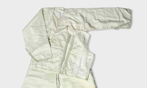 Lawrence of Arabia's white silk robes