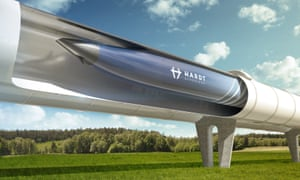 Hardt Hyperloop render