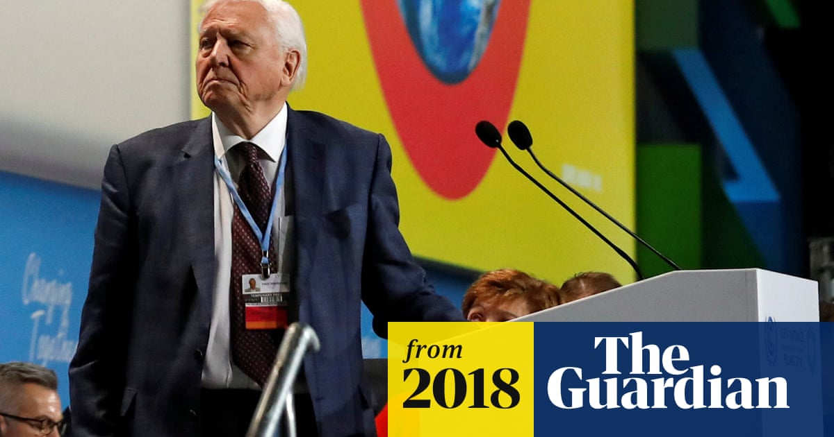 David Attenborough: collapse of civilisation is on the horizon