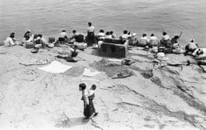 Hangang River, Seoul, Korea, 1956-63.