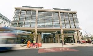 Amazon's development centre in Cambridge's 'silicon fen'.