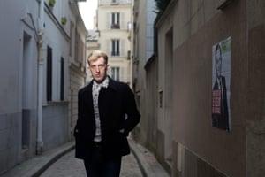 Writer Édouard Louis photographed in Paris