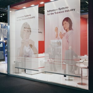 Munich, Germany Henkel, a chemical and consumer goods company exhibiting at the World Tobacco Expo