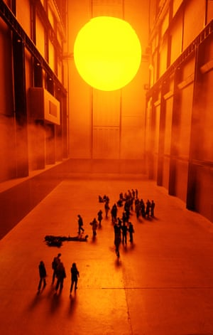 The Weather Project by Olafur Eliasson.