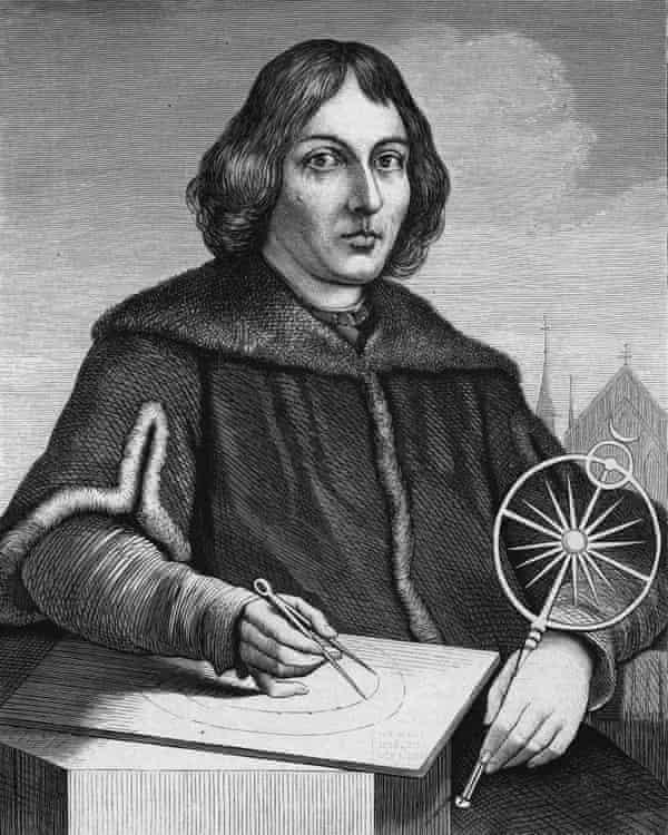 Polish astronomer Nicolas Copernicus
