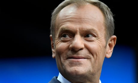 Brexit will leave UK a 'second-rate player', says Donald Tusk – video