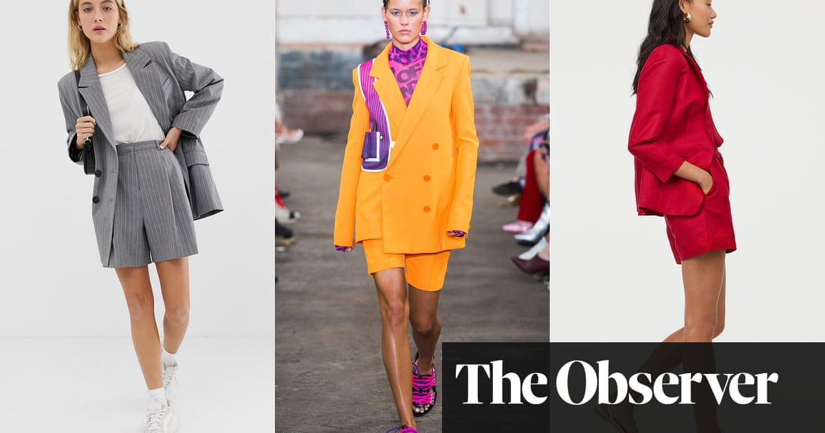 Less is more: why the shorts power suit is here for summer