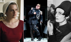 Elisabeth Moss in The Handmaid's Tale, Kevin Spacey in Richard III and Ayn Rand.