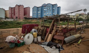 A shanty town in south Luanda.