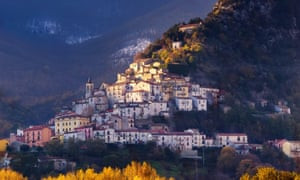 A village in Molise, Italy.