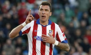 Mario Mandzukic joined Atlético Madrid last summer from Bayern Munich and scored 20 goals in 43 games for the Spanish side.