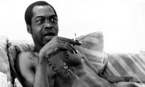 Fela Kuti … African music, filtered through jazz and funk.