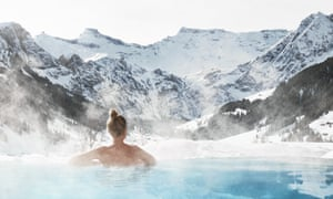 The spa at the Cambrian Hotel, Adelboden, Switzerland