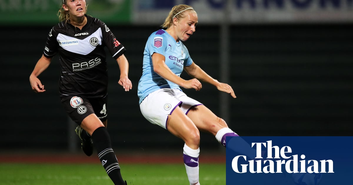 Manchester City hit Lugano for second-half six in Champions League thrashing