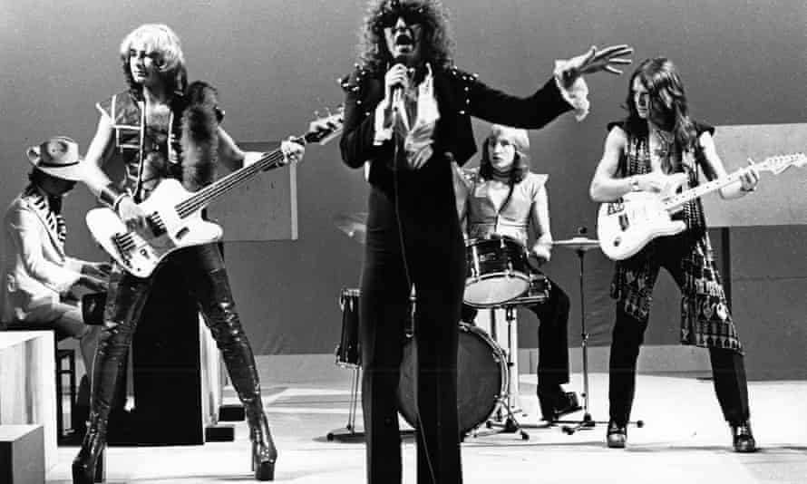 Mott The Hoople … With Overend Watts second left.