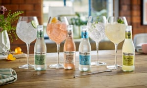 All mixed up … Fever-Tree.