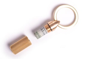 Small wonderStash some emergency taxi money for when your phone battery dies in this polished brass cache keyring have it engraved as a gift (£10 fee applies). £32, wingback.co.uk