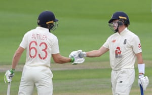 Pope celebrates his half century with Buttler.