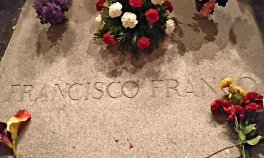 The tomb of Francisco Franco in the Valley of the Fallen