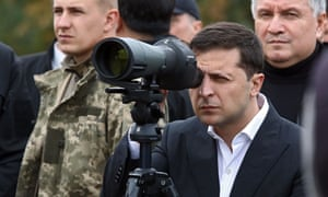 Can you see Russia from your house? Ukraine's president Volodymyr Zelenskiy