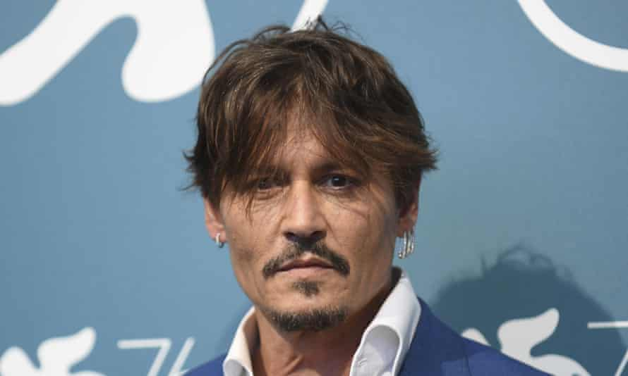 Johnny Depp, pictured in 2019