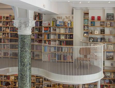 The new Cărtureşti Carusel bookshop.