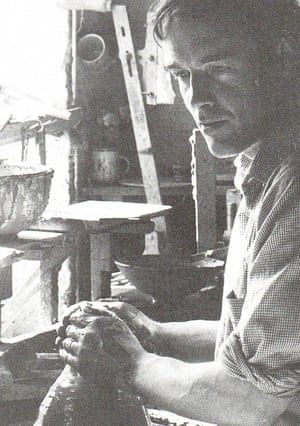 Alan Caiger-Smith at work in 1966