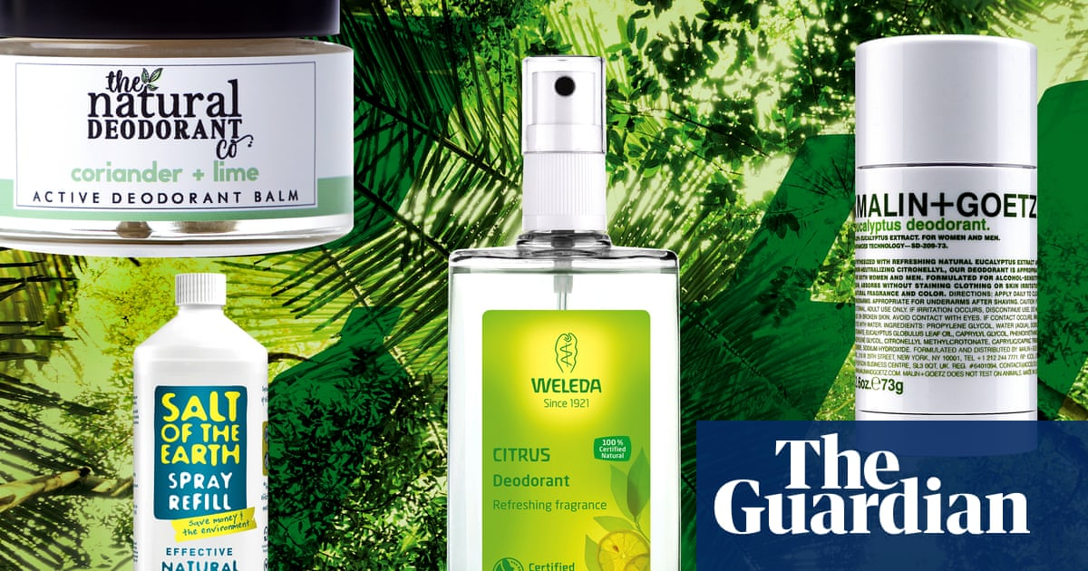 Top of the pits: the rise of natural deodorants