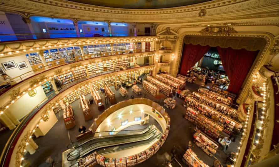 The El Ateneo Grand Splendid bookstore in Recoleta, Buenos Aires.