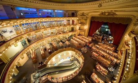 El Ateneo Grand Splendid in Buenos Aires.