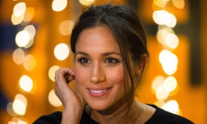 Meghan Markle during her visit to Reprezent 107.3FM