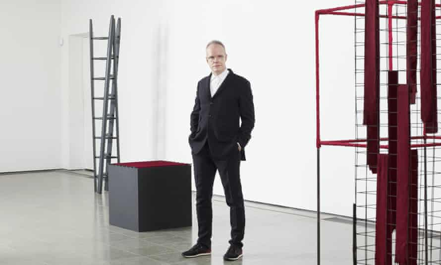 Hans-Ulrich Obrist, curator of the Serpentine gallery.