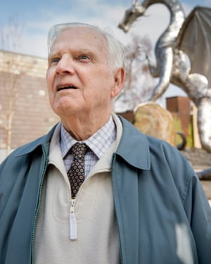 Retired steelworker Russ Annett