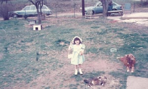 All dressed up: Mary in New Jersey in 1985.