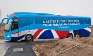 The Conservative Party's use of battle buses during the 2105 General Election campaign is at the heart of the expenses inquiries