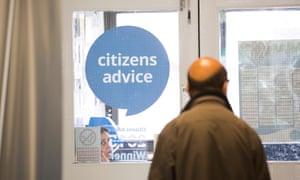 A Citizens Advice bureau in Harrow.