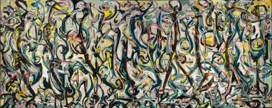 Jackson Pollock's Mural (1943) in Abstract Expressionism at the Royal Academy of Arts