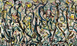 Vast and vibrant … Jackson Pollock's Mural (1943) is the largest picture he ever painted