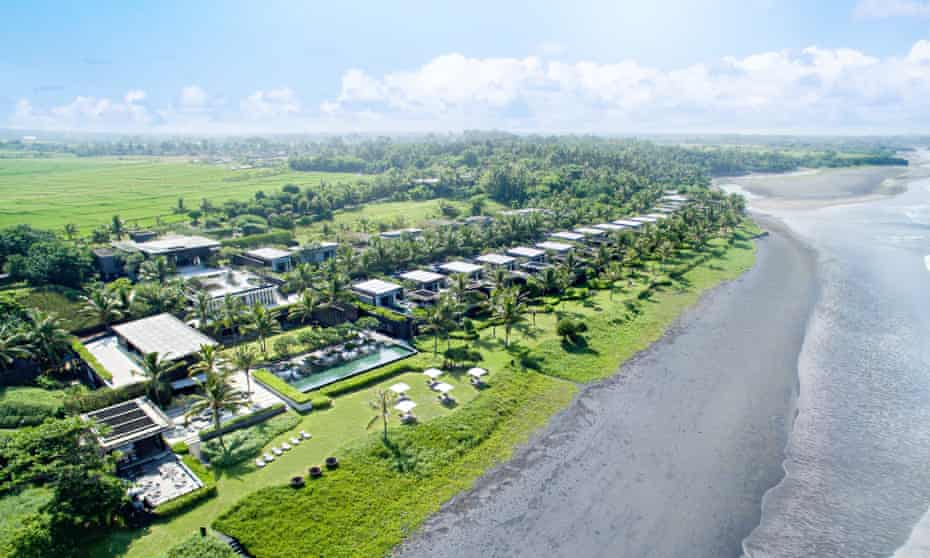The Soori resort on Pantai Kelating beach, Bali.